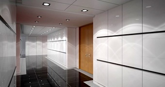 International Tower fit-out