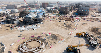 Riverwalk infrastructure, Dubai Parks