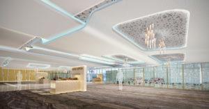 Dubai World Central executive jet terminal