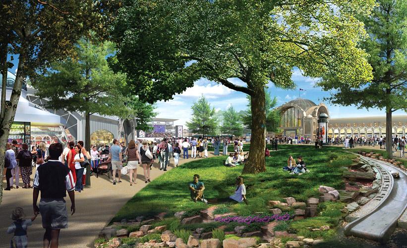 Riverwalk retail development