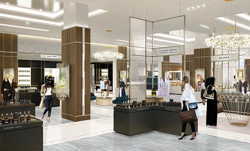 Dubai Mall perfumery