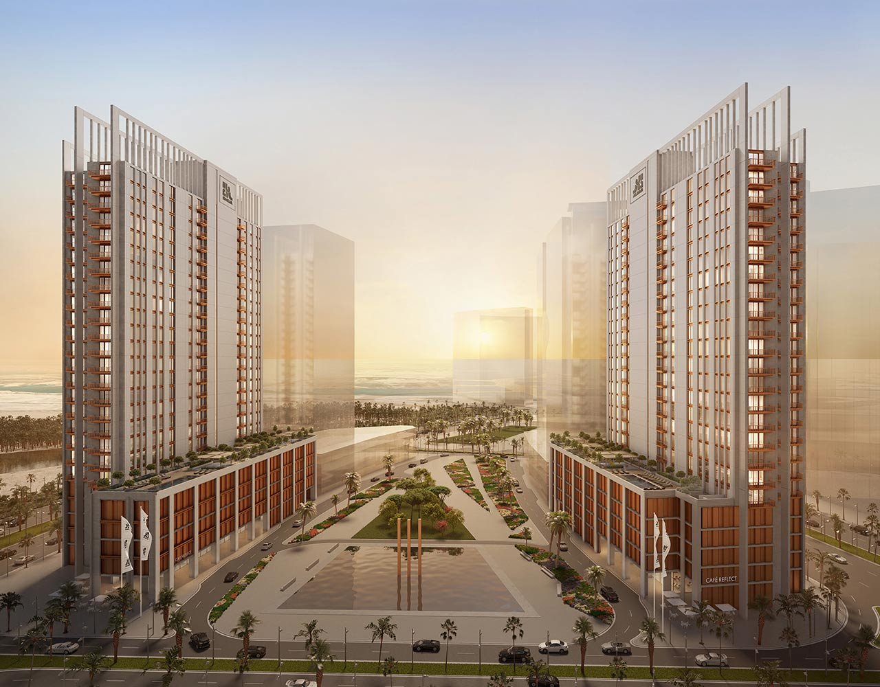 "WME Complete design for Aldar's latest Boutique Residential development ""Reflection"", Abu Dhabi"