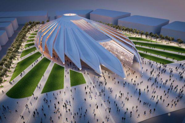 UAE Pavilion Render Expo Night