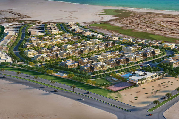 Saadiyat Beach Villas_Overall View