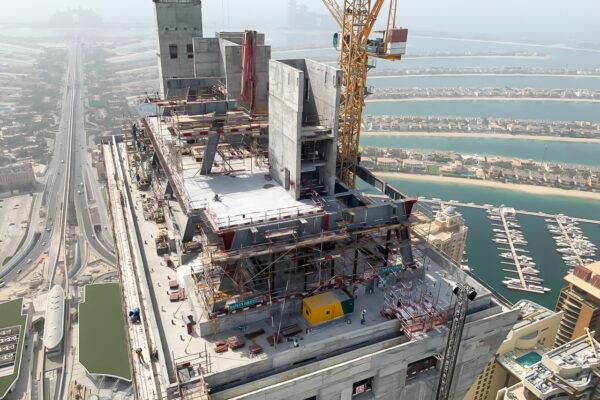 WME Site Progress Palm Tower Jun 19 12