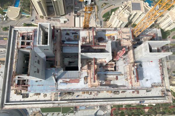 WME Site Progress Palm Tower Jun 19 14