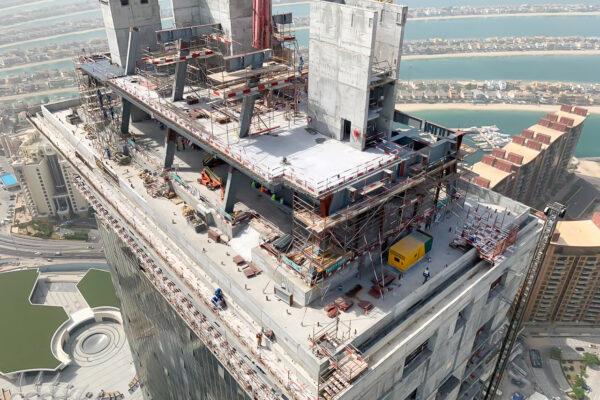WME Site Progress Palm Tower Jun 19 16