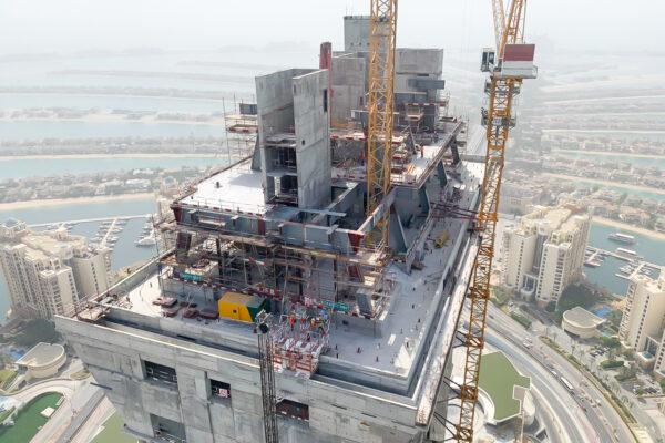 WME Site Progress Palm Tower Jun 19 17