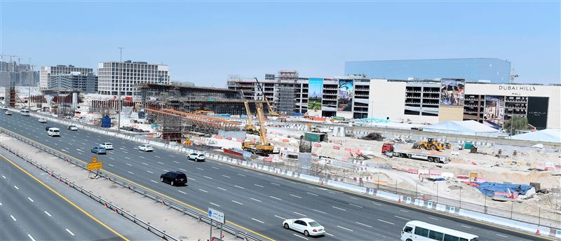 RTA, Emaar's $212m roadworks for Dubai Hills Mall 45% complete