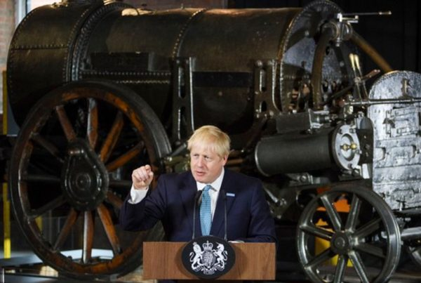 Prime Minister Boris Johnson. Image credit: Gov.uk