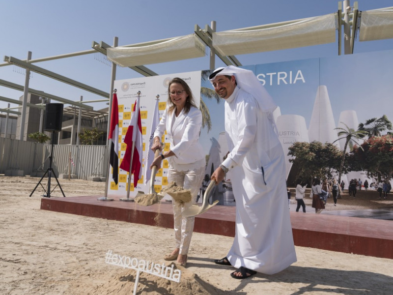 Construction begins on Expo 2020 Dubai's Austria Pavilion