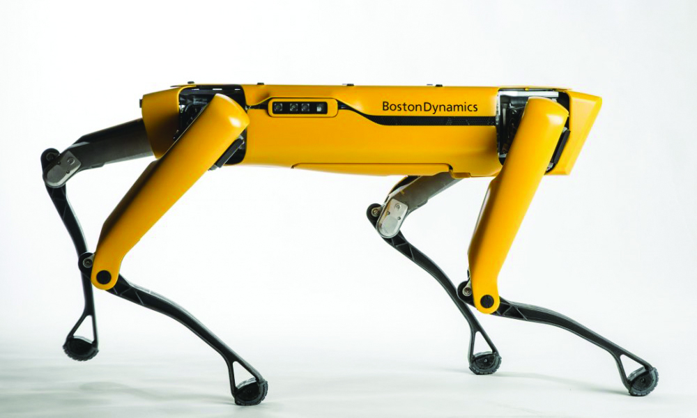 Robotic 'dog' being developed for construction jobs