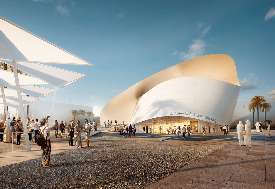 "Expo 2020's Luxembourg pavilion: ""From the earth to the stars"""