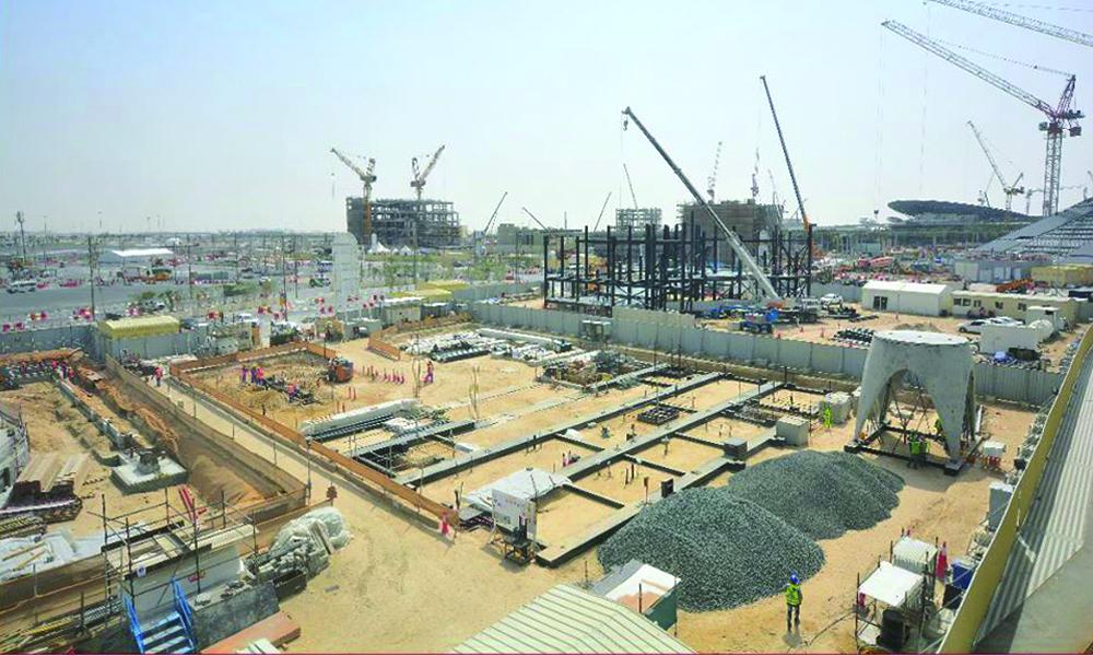 Austria completes key component of Expo 2020 Dubai pavilion structure
