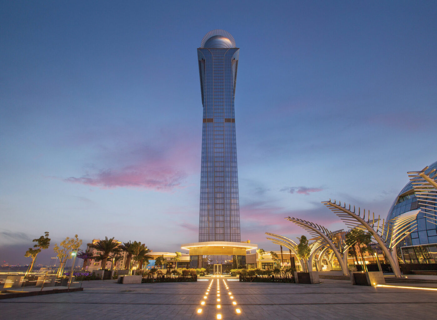Nakheel's Palm Tower 95% completed